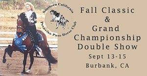 Fall Classic and Grand Championship Peruvian Horse Show