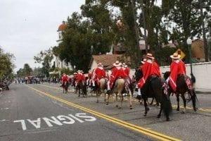The SCPPHC Parade Team at Laguna Beach Patriots Day Parade