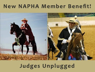 New Benefit For NAPHA Members: Judges Unplugged!