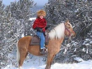 Bobbi Taylor and her Peruvian Gelding HHF Nevado