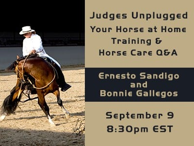 NAPHA Judges Unplugged Your Horse At Home Training and Horse Care